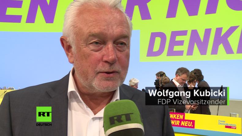 FDP-Vize Kubicki exklusiv im RT Deutsch-Interview: Miteinander reden statt Ängste produzieren