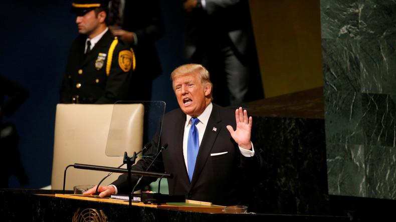 Trump auf UN-Vollversammlung: Im Verteidigungsfall, keine Wahl als Nordkorea komplett zu zerstören