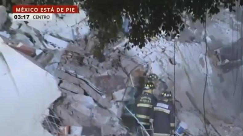 Live aus Mexiko nach schwerem Erdbeben mit über 220 Toten