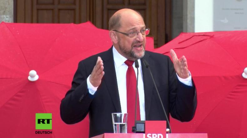 """Schulz sieht """"Friedens- und Wohlstandprojekt Europa"""" durch """"Autoritäre und Autokraten"""" bedroht"""