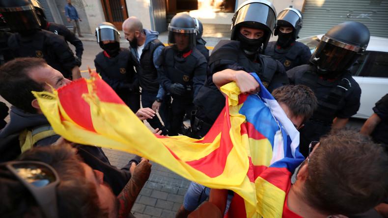 Spanien: Madrid geht massiv gegen katalanisches Unabhängigkeitsreferendum vor