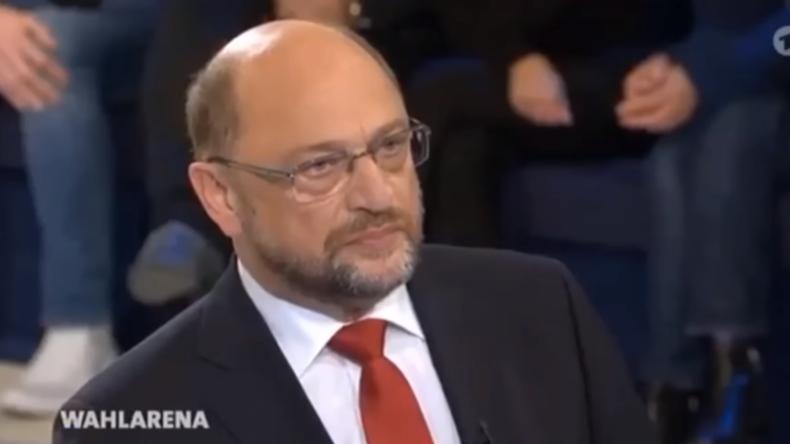 """Mutter macht SPD-Kanzlerkandidat Martin Schulz in """"Wahlarena"""" sprachlos"""
