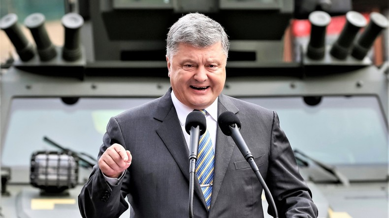 Poroschenko schwingt die Nuklearkeule und will Ukraine in Rolle eines Pufferstaates positionieren