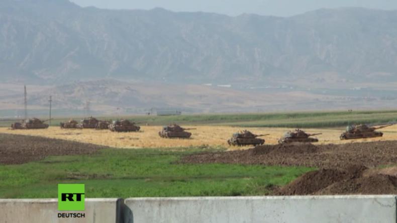 Türkei hält vor kurdischem Referendum im Irak Manöver an irakischer Grenze ab