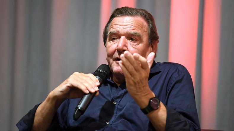 Gerhard Schröder: Russland wird die Krim nie wieder ausgliedern