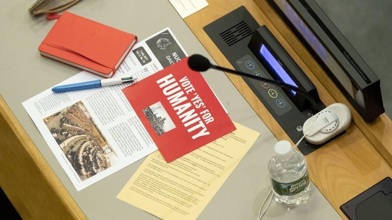 UN-Vertrag zum Verbot von Atomwaffen tritt in 90 Tagen in Kraft