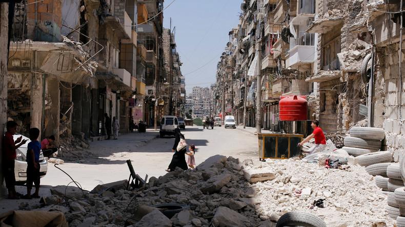 Wiederaufbau in Syrien: Westen lehnt Beteiligung ab und hält an Regime-Change fest