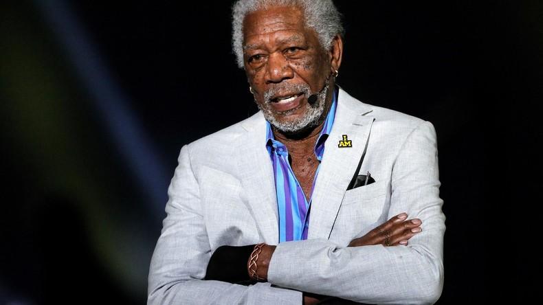 """""""Wir sind im Krieg:"""" Filmstar Morgan Freeman wettert gegen Russland und Trump"""