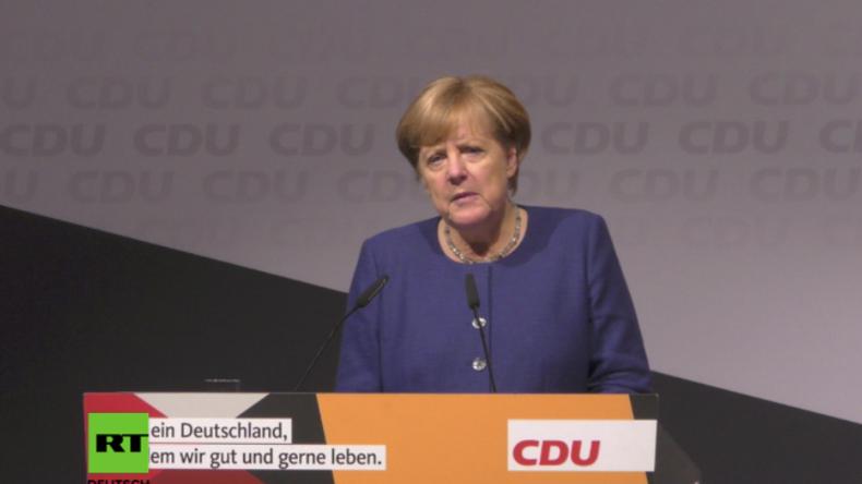 Endspurt im Wahlkampf: Merkel über Nordkorea, Russland, Syrien, Europa und den Terror