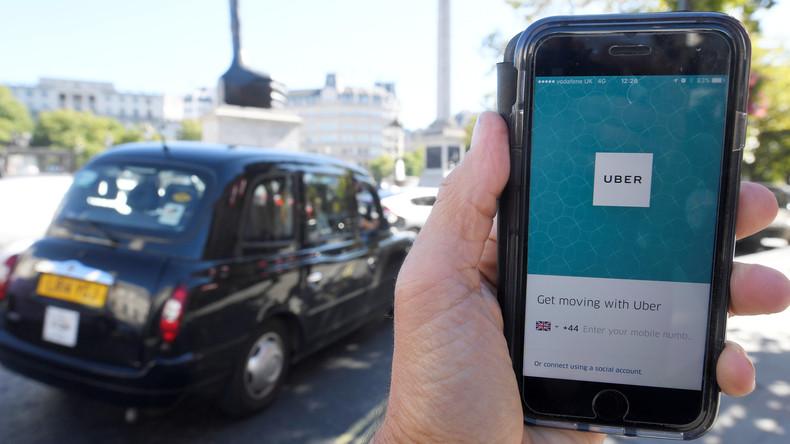 Uber unten durch: Taxi-Unternehmen verliert Lizenz in London