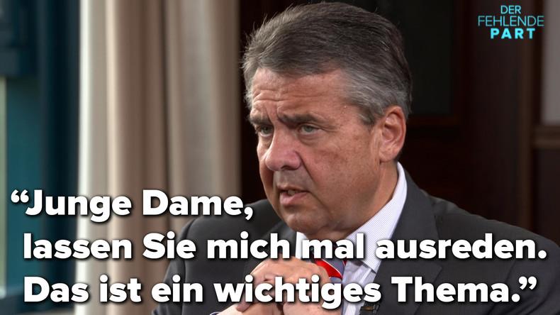 """""""Echte Nazis im Reichstag"""" – Was hat Bundesaußenminister Gabriel damit gemeint?"""