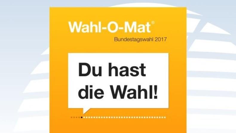Rekordergebnis vor Bundestagswahl: Wahl-O-Mat mehr als 13,3 Millionen Mal genutzt
