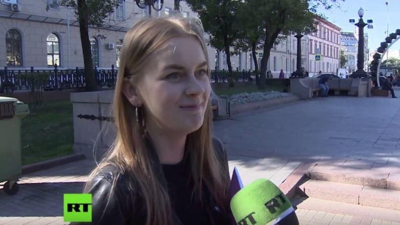 Straßenumfrage in Moskau: Warum hat sich Russland bisher noch nicht in Bundestagswahl eingemischt?