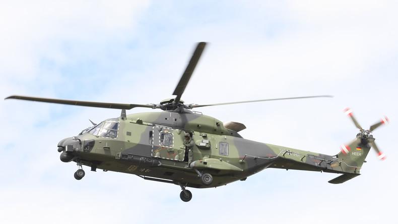 Bundeswehr-Kampfhubschrauber starten in Mali wieder – dabei Zwischenfall mit Transporthelikopter