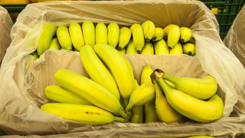Kokain in Bananenkisten in mehreren bayerischen Supermärkten entdeckt