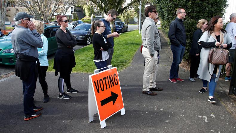 Neuseeland wählt neues Parlament