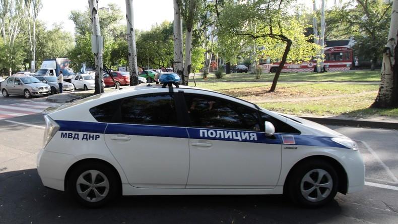 Mordanschlag in Donezk: Acht Menschen kommen mit Verletzungen davon