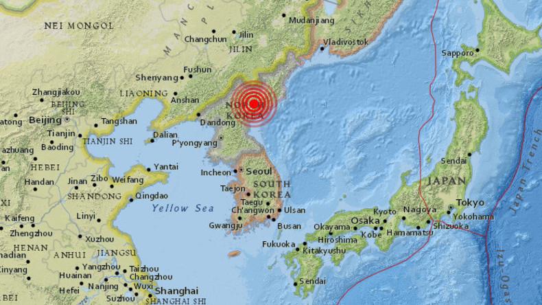 Medienberichte: Erdbeben in Nordkorea - war es eine Explosion?
