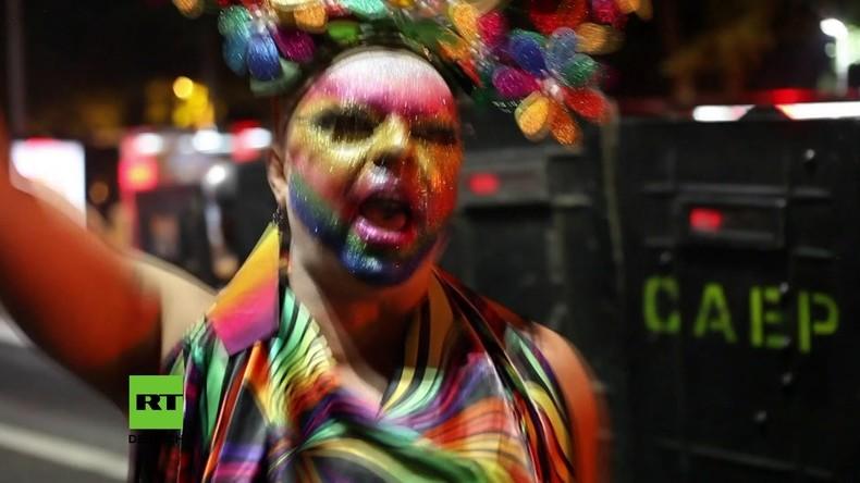 """Brasilien: Verhaftungen während Demo gegen """"schwule Umwandlungstherapie"""""""