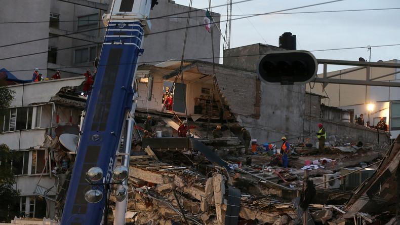Stärke 6,4 - Erneutes Erdbeben erschüttert Mexiko-Stadt