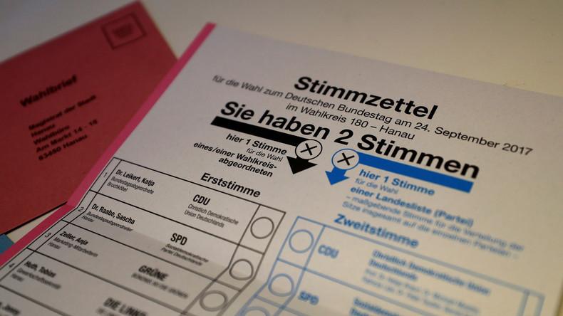 Bundestagswahl beginnt – Berliner stimmen zudem über Flughafen Tegel ab