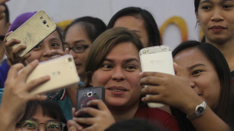 Philippinischer Präsident Rodrigo Duterte will Tochter als Nachfolgerin