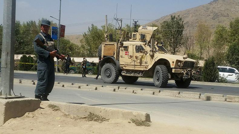 Selbstmordanschlag auf NATO-Konvoi in Kabul: Vier Verletzte unter Zivilisten