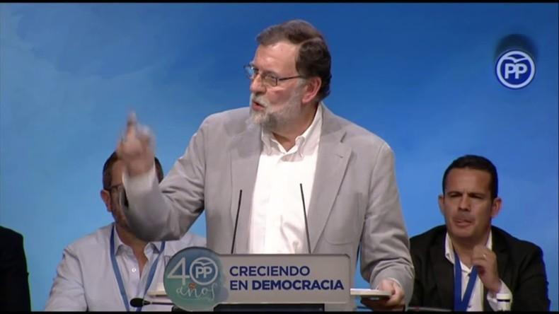 Spanischer Premierminister Rajoy: Es wird kein katalanisches Referendum geben