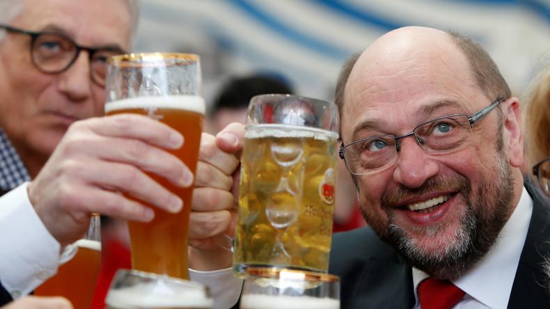 Live aus SPD-Parteizentrale in Berlin: Reaktionen und Wahlparty