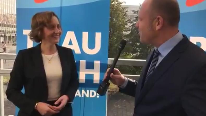 """AfD: Beatrix von Storch verspricht """"Revolution in der Parteienlandschaft nach dem Linksrutsch"""""""