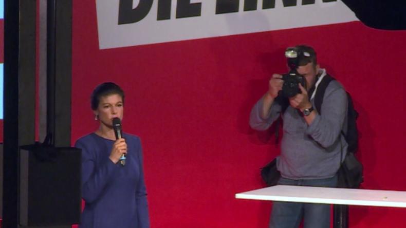 """""""Wir bleiben die soziale Opposition"""" - Reaktionen auf Linken-Wahlparty zu Hochrechnung"""