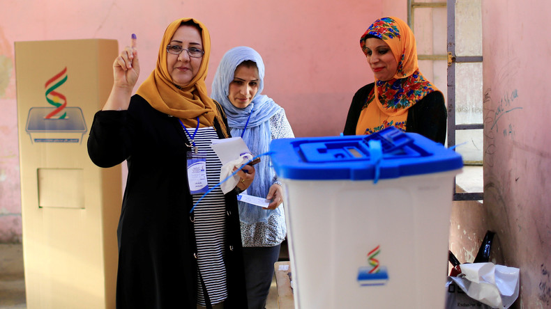 Kurdisches Unabhängigkeitsreferendum im Nordirak gestartet