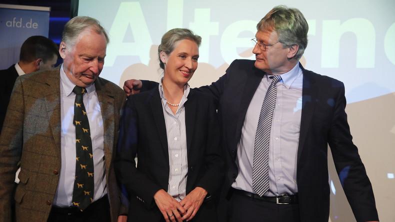 LIVE: AfD-Spitze hält gemeinsame Pressekonferenz zu Ergebnissen der Bundestagswahl 2017