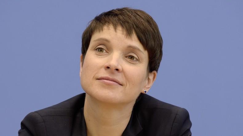 Eklat: AfD-Vorsitzende Petry wird der AfD-Bundestags-Fraktion nicht beitreten