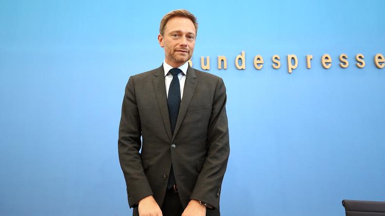 LIVE ab 12 Uhr: Christian Lindner, Spitzenkandidat der FDP, gibt Pressekonferenz zur Bundestagswahl