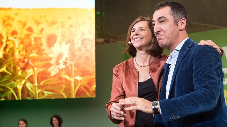 LIVE ab 13 Uhr: Spitzenkandidaten von Bündnis 90/Die Grünen geben Pressekonferenz nach Wahl