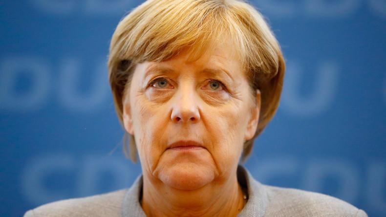 LIVE: Bundeskanzlerin und CDU-Chefin Angela Merkel hält Pressekonferenz nach Bundestagswahl