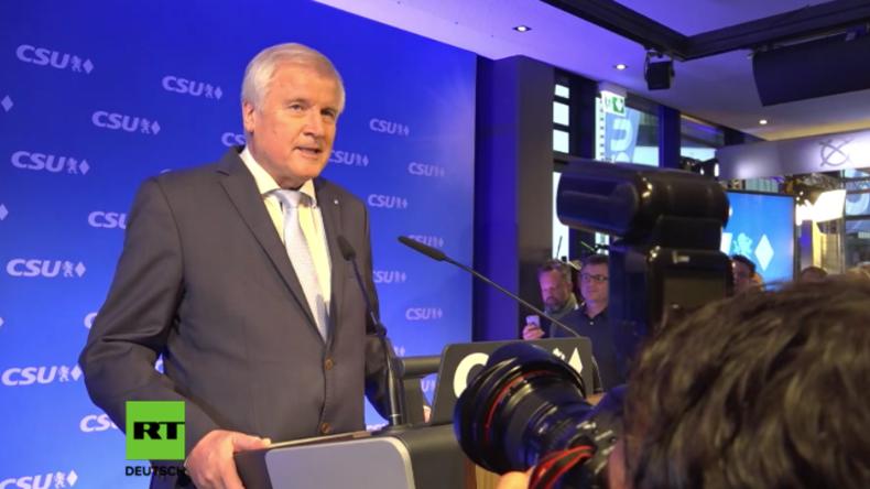 CSU erhält historisch schlechtes Wahlergebnis: Seehofer fordert zukünftig klaren Mitte-Rechts-Kurs