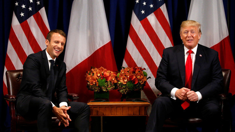 Macron und Trump bei der UN - Schizophrenie in New York