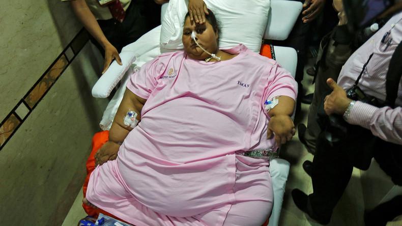 Kampf gegen Übergewicht verloren: Einstmals schwerste Frau der Welt an Blutvergiftung gestorben