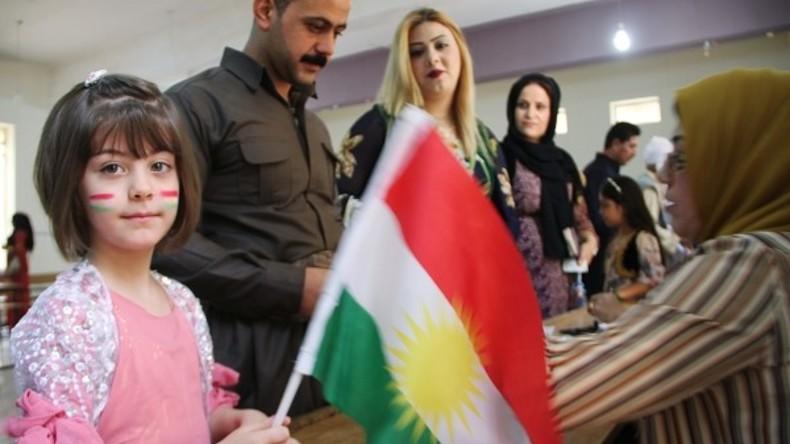 Irak: Bilder vom umstrittenen kurdischen Unabhängigkeitsreferendum