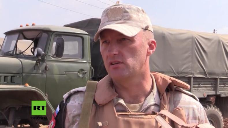 Syrien: Russische Militärpolizisten berichten über bange Stunden im Kessel der Al-Nusra-Terroristen
