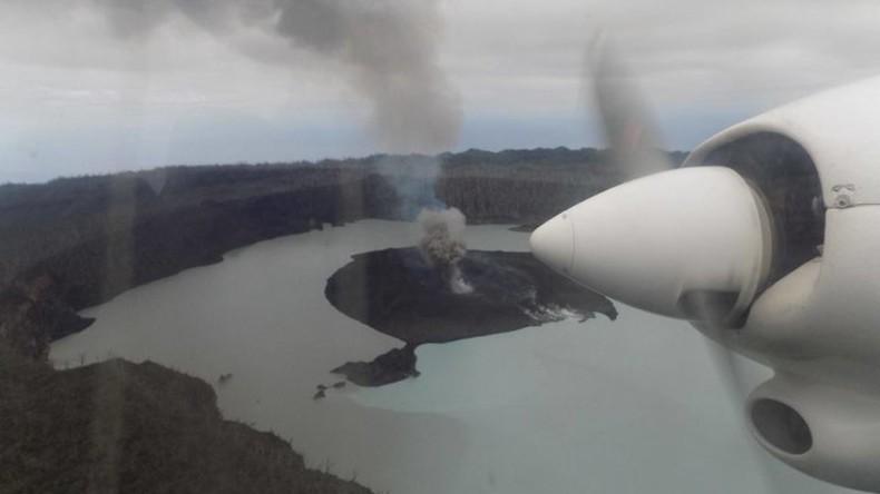 Auf Bali nichts Neues – inzwischen Vulkan auf anderer Pazifikinsel ausgebrochen