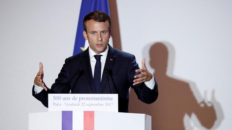 LIVE: Protest an der Sorbonne Universität in Paris – Studenten wollen Auftritt von Macron verhindern