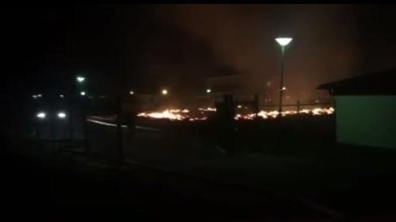 Schweden: Moschee geht in Flammen auf [VIDEO]