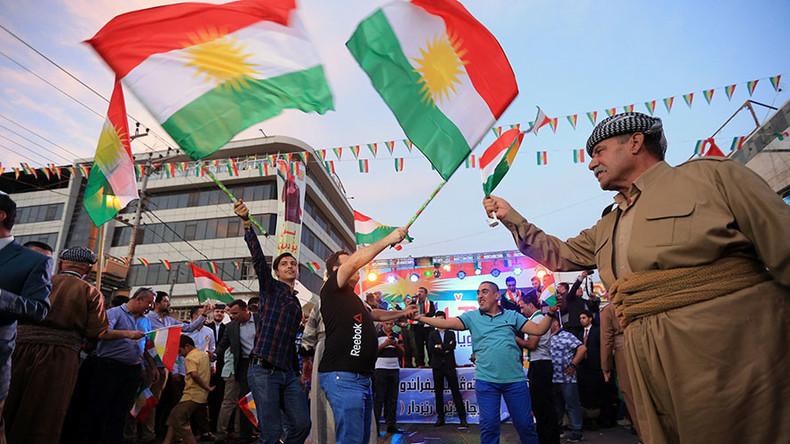 Kurdischer Führer gibt Mehrheit für Unabhängigkeit nach Referendum bekannt
