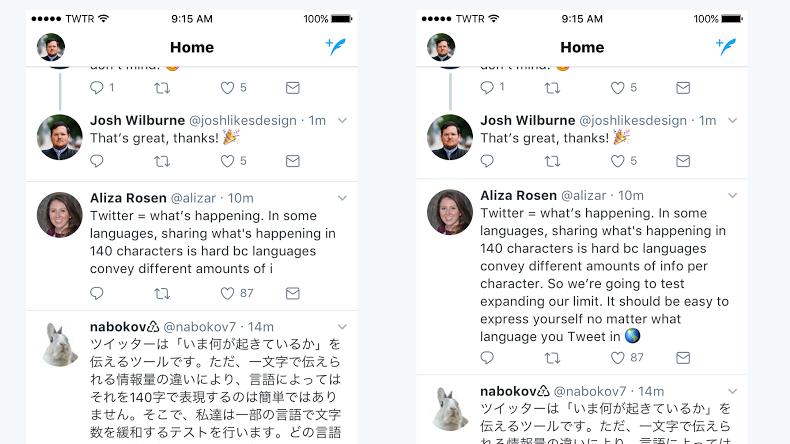 Länge doch wichtig? Twitter testet Tweets mit doppelter Zeichenanzahl