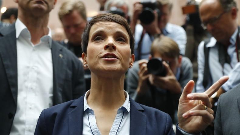 """""""Die Blauen"""" – Spekulationen über Parteigründung von Frauke Petry"""