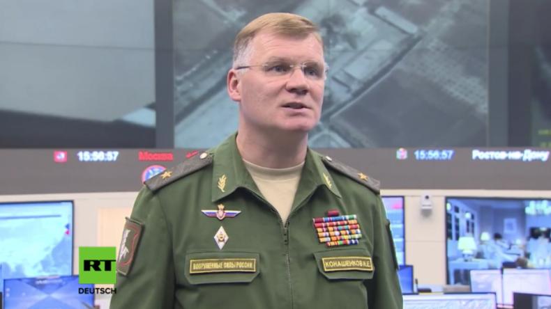 Endspurt in Syrien: Russische Bomber zerstören Militärgerät und Kämpfer des IS & der Al-Nusra-Front