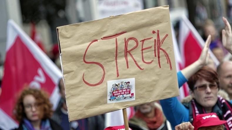 Bilanz des Arbeitskampfs: Deutsche streiken wenig – Slowaken und Japaner gar nicht